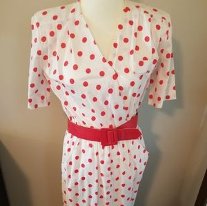 Vintage 80s New Raves Small/Medium Dress